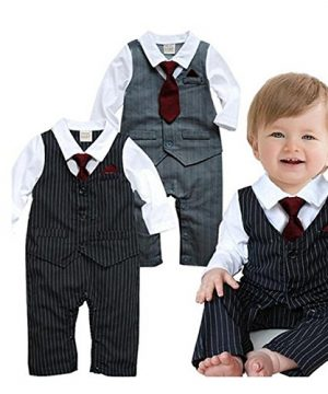 Baby Boy Formal Party Waistcoat Outfit
