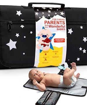 Yellowphant Baby Portable Changing Pad - Premium Foldable