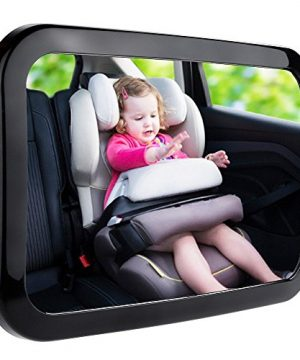 Zacro Baby Car Mirror, Shatter-Proof Acrylic Baby Mirror for Car