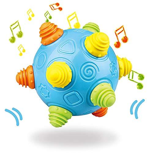 Baby Music Shake Dancing Ball Toy, BPA Free