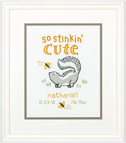 Baby Shower Gifts: Stitch Kit Birth Record Personalized