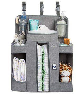 Large Hanging Diaper Caddy Organizer Playard or Wall Crib