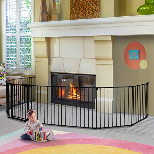 198 inch Baby Gate, KINGSO Extra Wide Baby Gates
