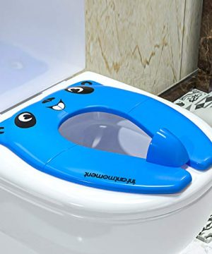 Portable Potty Seat for Toddler, Foldable Potty Training Toilet Seat Cover