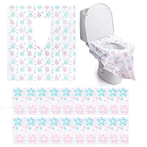 Toilet Seat Covers Disposable XL- Extra Full Cover