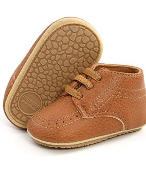 COSANKIM Baby Boys Girls Shoes Lace Up Leather