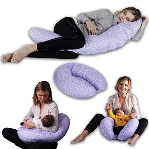 Pregnancy Pillow Adjustable Loft Maternity Pillow Multifunctional