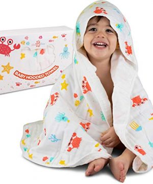 Softer Muslin Hooded Towel with Belt