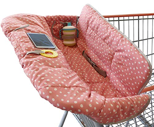 Shopping Cart Cover for Baby or Toddler | 2-in-1 High Chair Cover