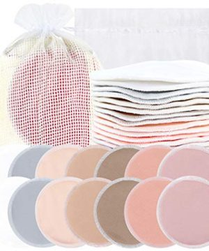Bamboo Nursing Pads + Laundry Bag, Travel Storage Bag