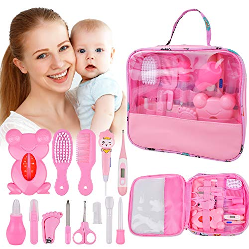 Baby Healthcare Grooming 14 Kits, 13in1 Baby Care