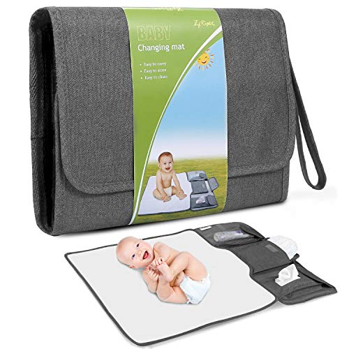 Portable Diaper Changing Pad Large Size Detachable Baby