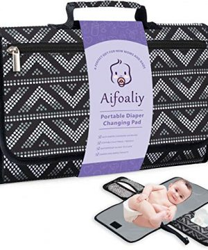 Portable Diaper Changing Pad for Baby, Reusable Changing Mat