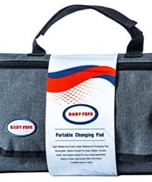 BabyFefe Portable Changing Pad, Baby Items Large Diaper Changing