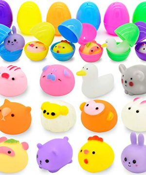 Easter Eggs with assorted Bath Toys for Kids