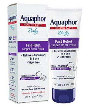 Aquaphor Baby Diaper Rash Paste - Fast Relief