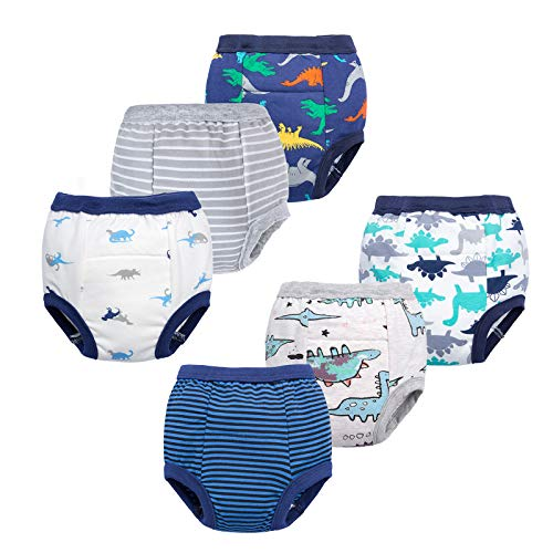 Toddler Potty 6 Pack Cotton Pee Training Pants