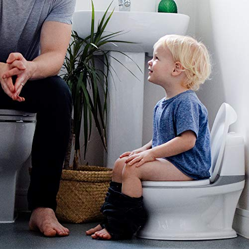 Nuby My Real Potty Training Toilet with Life-Like Flush Button