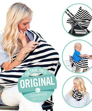 4-in-1 Breastfeeding and Car Seat Cover
