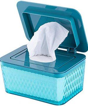 Premium Diaper Wipes Dispenser, Tissue Storage Box Case
