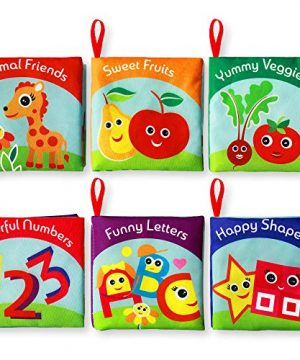 Premium Quality Soft Books for Toddlers.