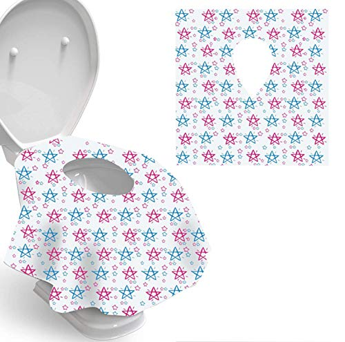 Toilet Seat Covers Disposable, Individually Wrapped for Travel