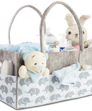 Baby Diaper Caddy Organizer for Nursery Essentials