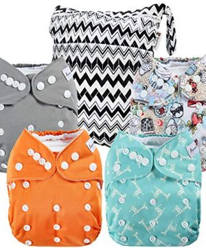 Cloth Diapers Waterproof Washable Pocket
