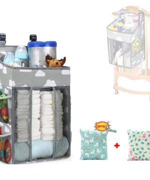 Baby Diaper Caddy Stackers Nursery Hanging Organizers Bags