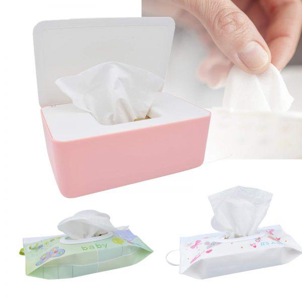 Reusable Baby Wipe Holder Diaper Wipes Dispenser