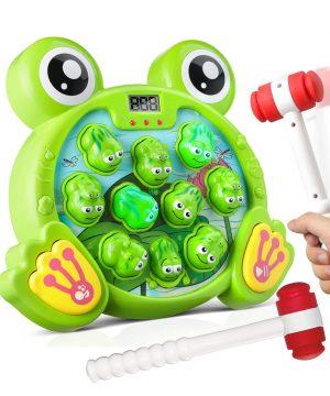 Bu-buildup Whack a Frog Activity Game