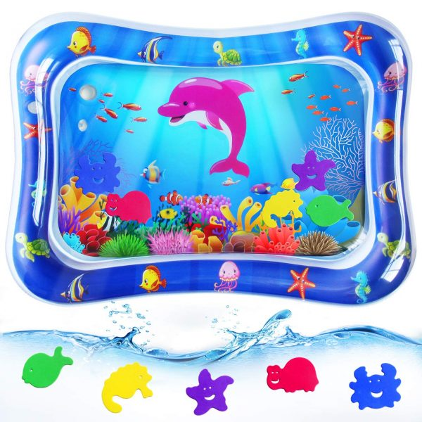 RMJOY Baby Tummy-Time Water Mat
