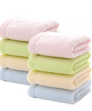 Bamboo Baby Washcloths for Face Baby Girls or Boys