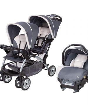 Baby Trend Sit N Stand Lightweight Travel Double Umbrella Baby Stroller