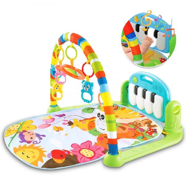 LATINKIS Baby Gym for Infant Baby Play Mat