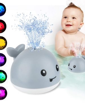 CHIMOCEE Baby Bath Toys, Whale Automatic Spray
