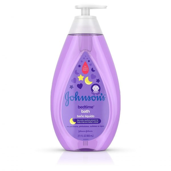 Johnson's Bedtime Baby Bath with Soothing NaturalCalm Aromas