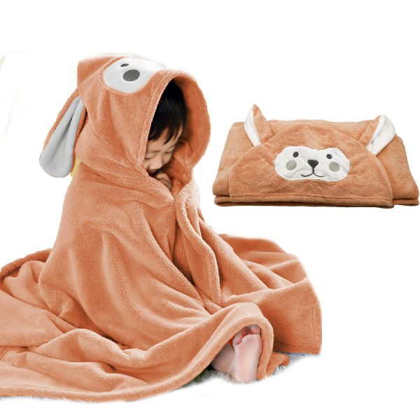 Kids Bath Towel Ultra Soft Hooded Towel Highly Absorbent