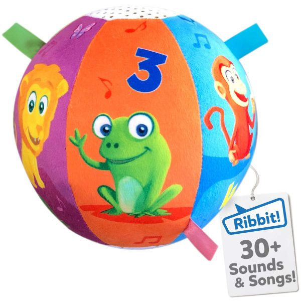 Move2Play Interactive Animal Sounds Crawl Ball Toy