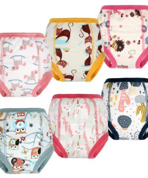MooMoo Baby Training Pants 6 Packs Toddler Training