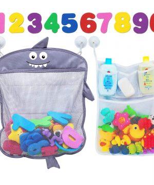 Cute Bathtu Baby Bath Toy Organizer