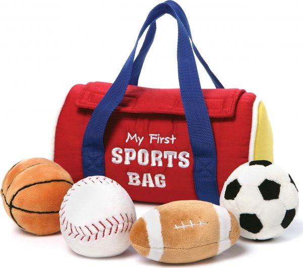 Baby GUND My First Sports Bag Stuffed Plush Playset
